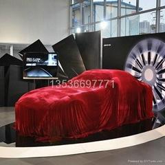 新車發布瞬間電動吸幕機