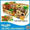 Large Indoor Castle Playground