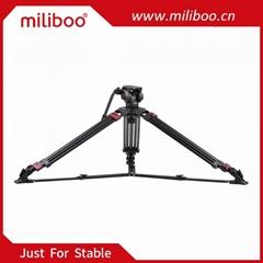 miliboo MTT609A Professional Tripod Aluminum Alloy Photography Camera Tripod 3 S