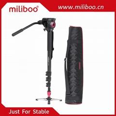 miliboo MTT705A Aluminum Alloy Portable Monopod &Tripod For Professional Camcord