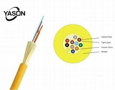 Multi Purpose Distribution Cable 8 Fibers Yellow