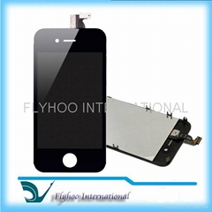 For iPhone 4 4G Black Full LCD Digitizer Touch Screen Glass Assembly Complete