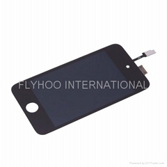 For iPod Touch 4rd Gen LCD Digitizer Touch Screen Glass Assembly Replacement