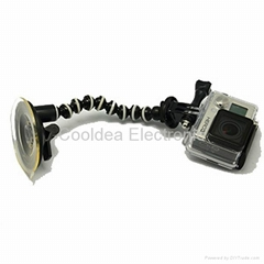 For Gopro ring Bead suction cup bracket