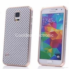 For Samsung S5 G900D G900v carbon fibre cover