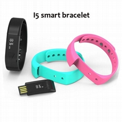 Smart bracelet I5 Bluetooth Smart Health bracelet fashion wear sports watches  (Hot Product - 1*)