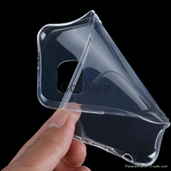 Newest Original 0.3mm Soft TPU Crystal Clear Back Transparent Protective Case
