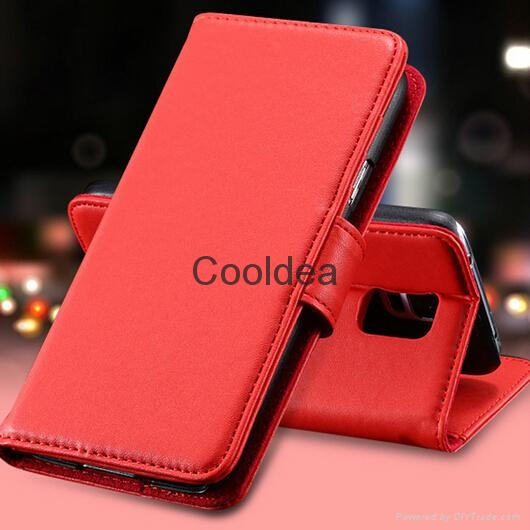 Luxury Retro Leather Flip Case For Samsung Galaxy S5 SV i9600 Cellphone  4