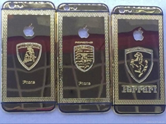Case Gold color imited Edition frame plated back housing for iPhone 6