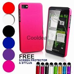 Hybrid Hard Case Cover For BlackBerry Z10 + Film + Stylus