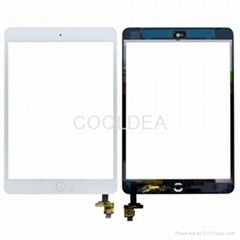 For iPad Mini 1 2 gen Digitizer Touch Screen With IC Chip Assembly