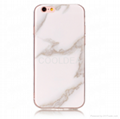 Marble Pattern TPU Back Case For iPhone 6 7 8 Plus X