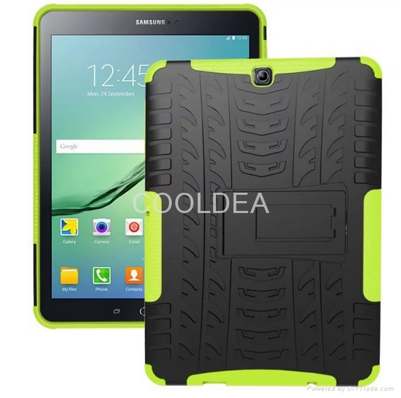 Samsung Galaxy Tab S2 9.7-inch T810 Case T815 Armor Stand Tablet PC Case 2