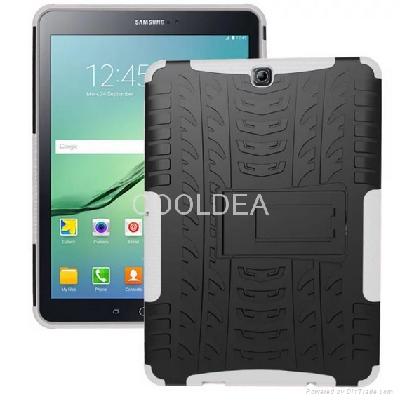 Samsung Galaxy Tab S2 9.7-inch T810 Case T815 Armor Stand Tablet PC Case 8