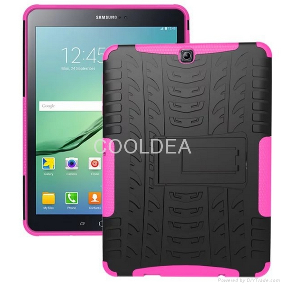 Samsung Galaxy Tab S2 9.7-inch T810 Case T815 Armor Stand Tablet PC Case 9