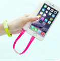 Portable fashionable bracelet data cable iphone Apple phone USB charging cable 3