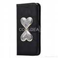 Double Flow Quicksand  Plug Card Holder Protection Case