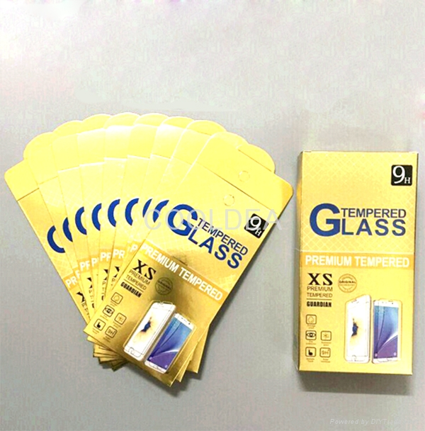 Hot Seller iPhone 5 5s 5c 6 6s 6s plus 7 7 Plus High Quality Tempered Glass 4