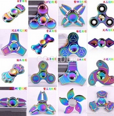 Colorful Crabs Colorful Gyro UFO Zinc Alloy Spinner