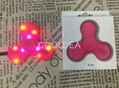 Bluetooth speaker fingertips spinner rechargeable with LED lights 5