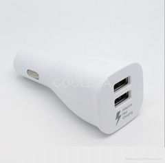 Samsung dual USB fast car charger