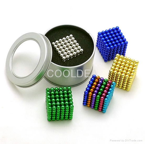 Decompression puzzle toys 5mm216 magic bark ball NdFeB magnetic ball 3