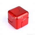 Fidget cube decompression magic square against the cyclone box