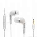 For  Samsung S3/4/5 N7100 Note3/4 Original Earphone