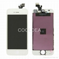 For iPhone 5 Full LCD Digitizer Touch Screen Panel Assembly Black/White