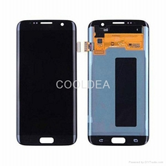 For Samsung S7 Edge Full LCD Digitizer Touch Screen Panel Assembly