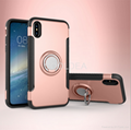 Ring Armor Magnetic Support Phone Case For iPhone 7 8 X