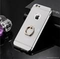 All-in-one anti-fall creative ring bracket protection  Phone case For iPhone 7 8