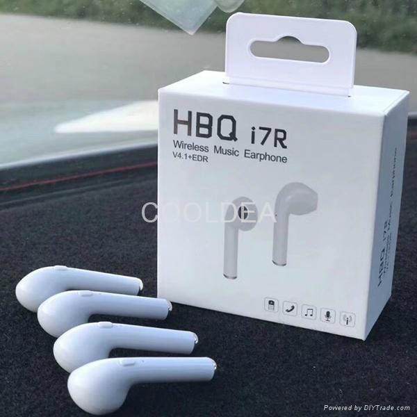HBQ I7R Bluetooth Wireless Headphone 1