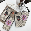 New High Quality Candy Three-piece embossed lanyard Case For iPhone 6/7/7/X