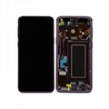 For Samsung S9 Full LCD Digitizer Touch Screen Display With Frame Part