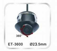 ET-3600,Universal Car camera,23.5mm,360-degree views,Hot