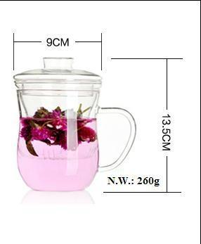 pyrex glass tea cup 1