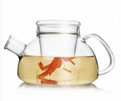 heat resistant tea pot