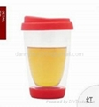 Colorful cup for tea or coffee