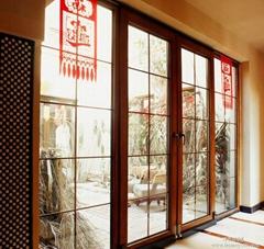 沈阳德式铝包木门窗88型号