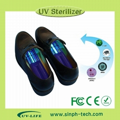 portable uv light shoes sterilizer with CE FCC ROHS certification