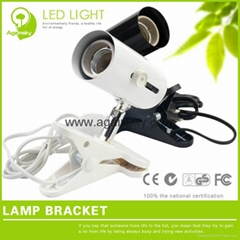 Reptile lamp holder for e27 heating lamps