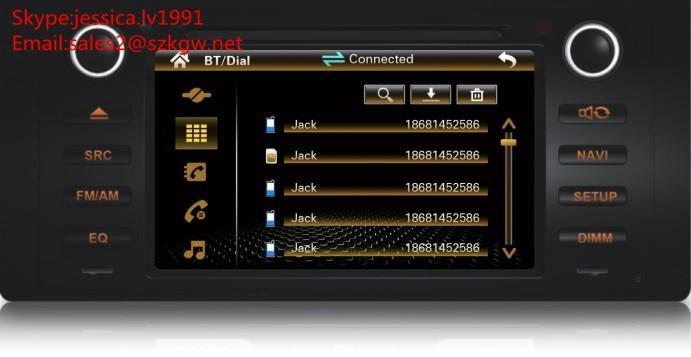 car navigation for BMW E53 E39 with GPS BT RADIO USB 1