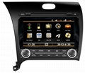 KIA CERATO double Din Car DVD Player