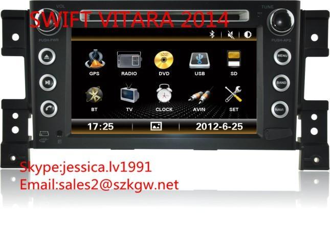suzuki Vitara 2014 DVD PLAYER with GPS navigation system 1