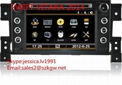 suzuki Vitara 2014 DVD PLAYER with GPS navigation system