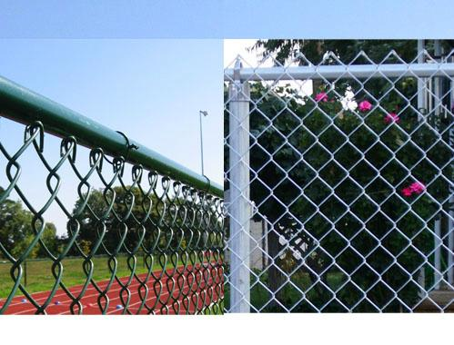 Anping Hot Sale Ga  anized Wire Mesh Chain Link Fence