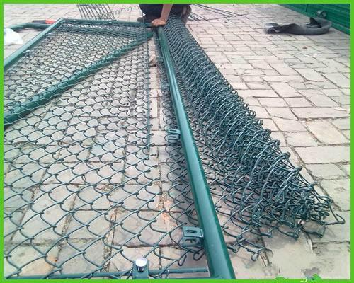 Anping Hot Sale Ga  anized Wire Mesh Chain Link Fence 4