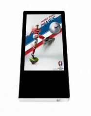 Ultra Thin Elevator Media Player 18.5inch HD Advertising Display Vertical Portra