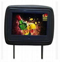 7-9-12 Inch Headrest LCD Video Screen Car Video Player